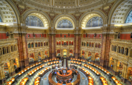 Photographing the Library of Congress Reading Room