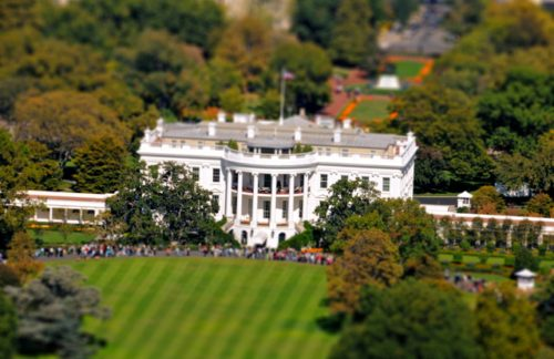 Photographing the White House Grounds