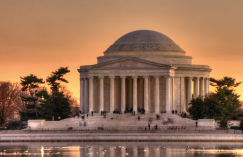 Photographing the Jefferson Memorial