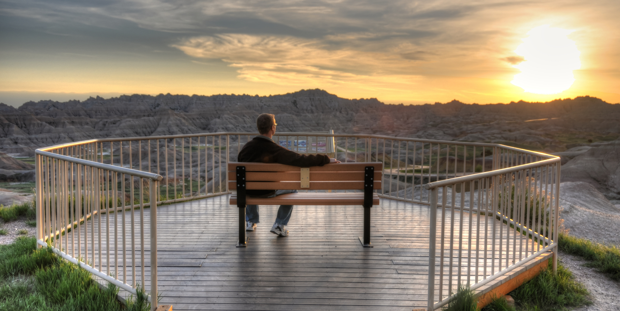 Conata Basin Overlook, Badlands National Park