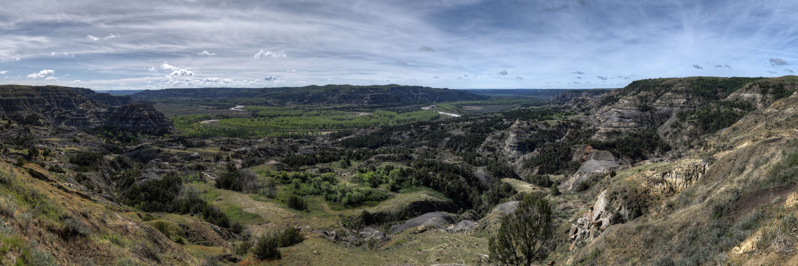 Oxbow Overlook, Theodore Roosevelt National Park
