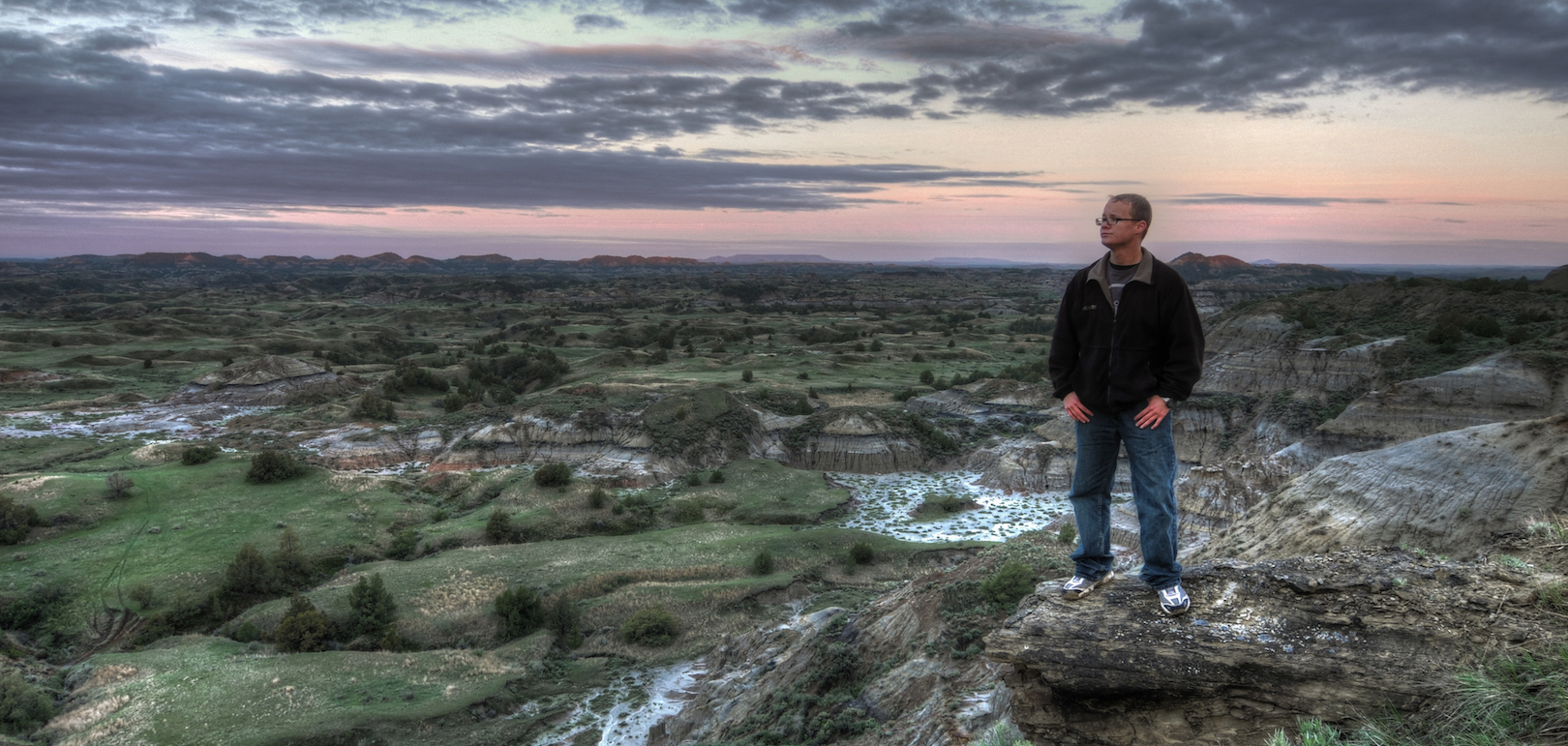 Boicourt Overlook, Theodore Roosevelt National Park