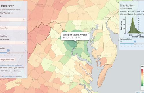 American Community Survey Data Explorer
