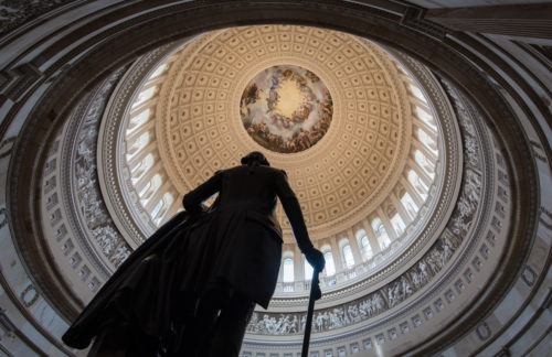 Photographing the Interior of the U.S. Capitol