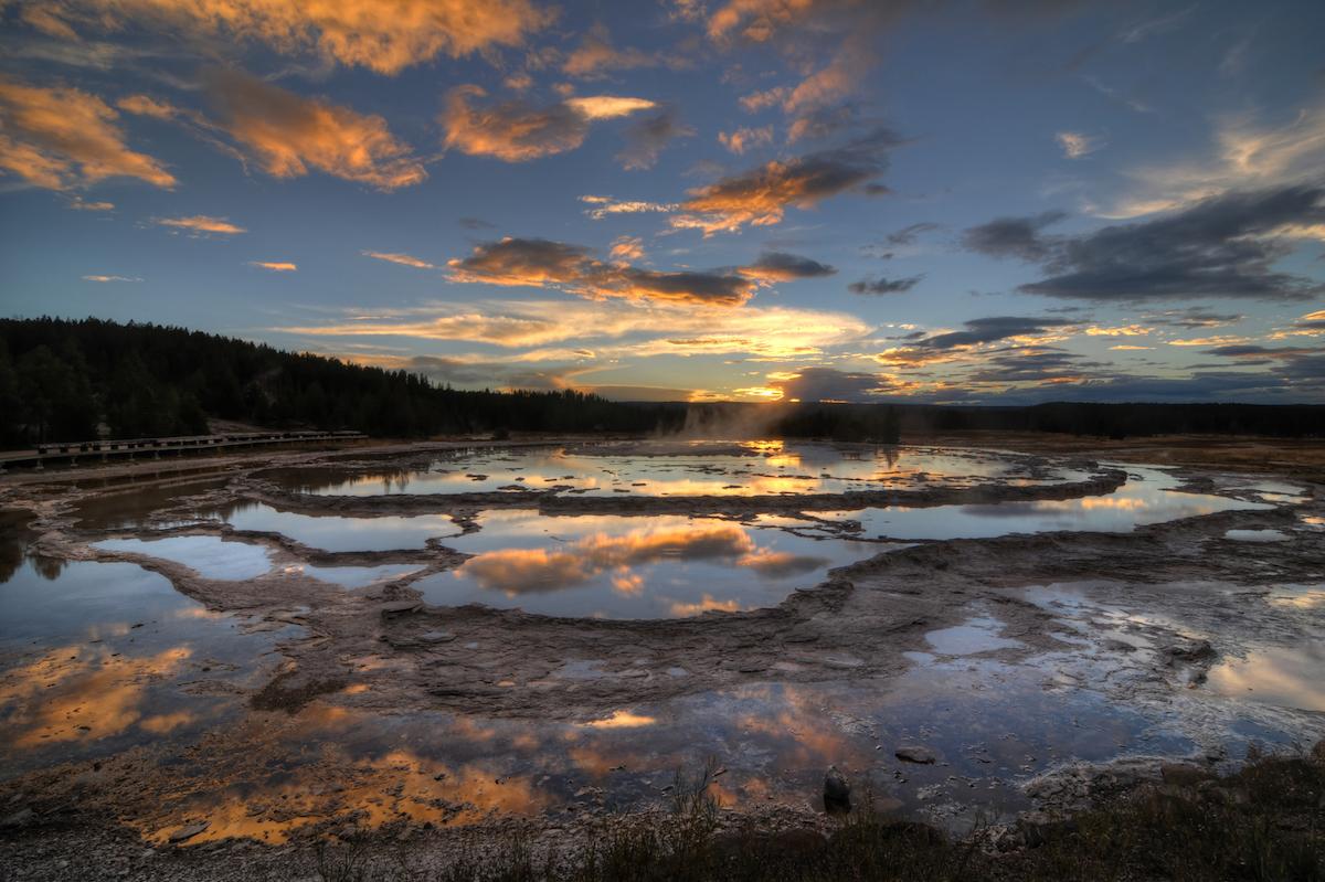 Great Fountain Geyser, Yellowstone National Park