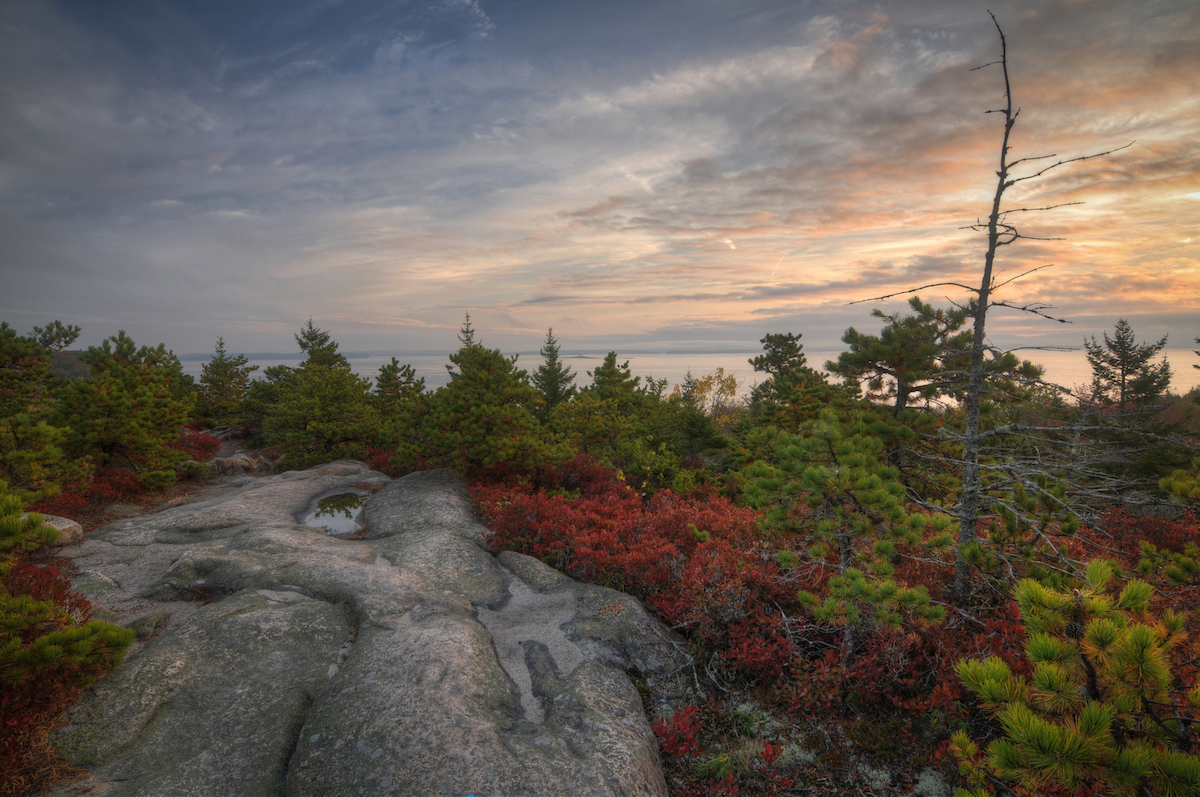 The Great Head Trail, Acadia National Park