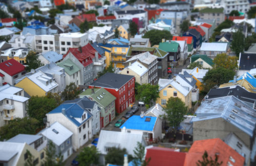 Tilt-Shift Fakes Using Photoshop