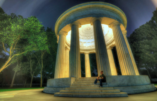 Photographing the DC World War I Memorial