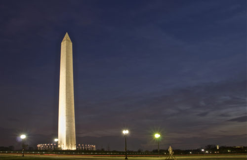 Photographing the Washington Monument